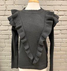Sweater Flora Ruffled Sweater
