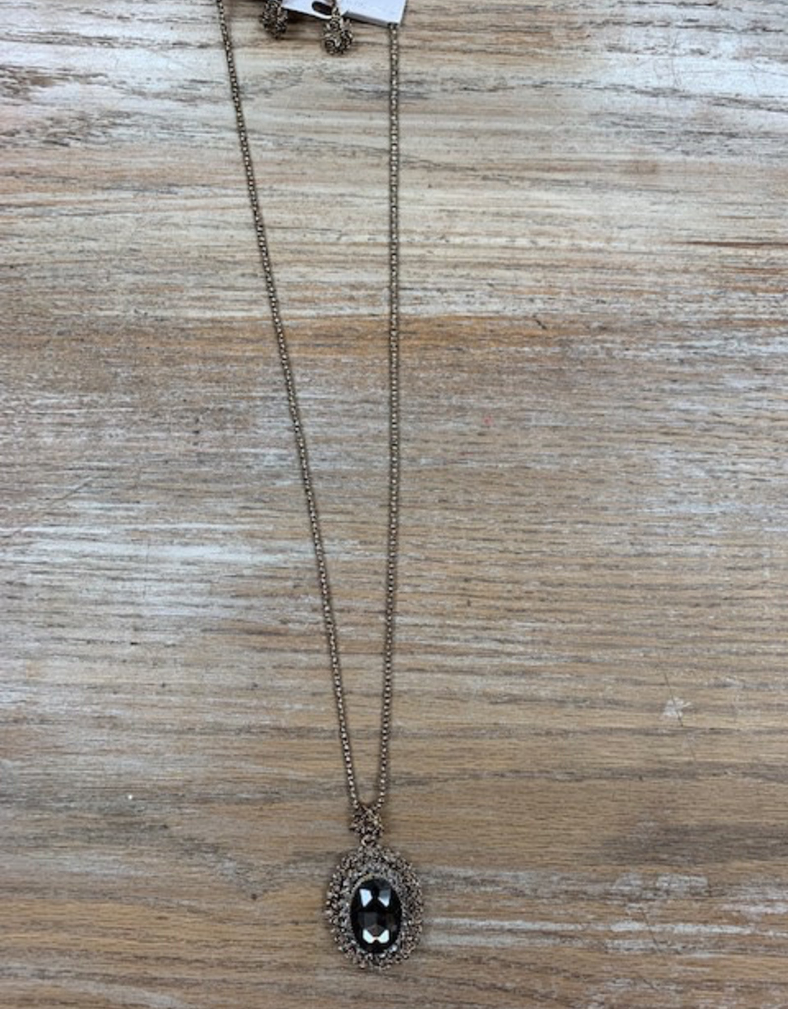 Jewelry Long Gold Big Pendant Necklace