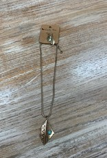 Jewelry Gold Triangle Western Necklace