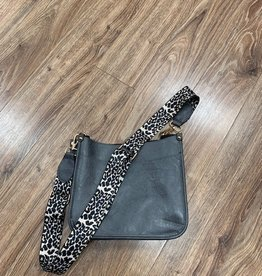 Bag Crossbody Messenger Bags w/ Leopard Strap