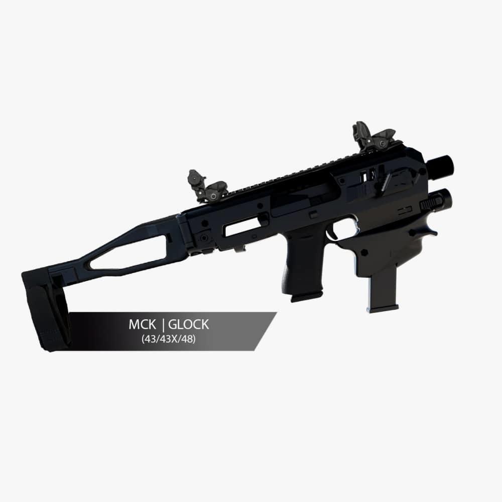 CAA Micro Conversion Kit, Glock, 43, 43X, 48, Black