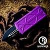 Sold Out - Microtech EXOCET, violet frame, blade - black, standard