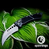 Sold Out - Microtech auto HAWK, blade - stonewashed