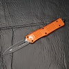 Sold Out - Microtech COMBAT TROODON, orange frame, blade - double edge, standard