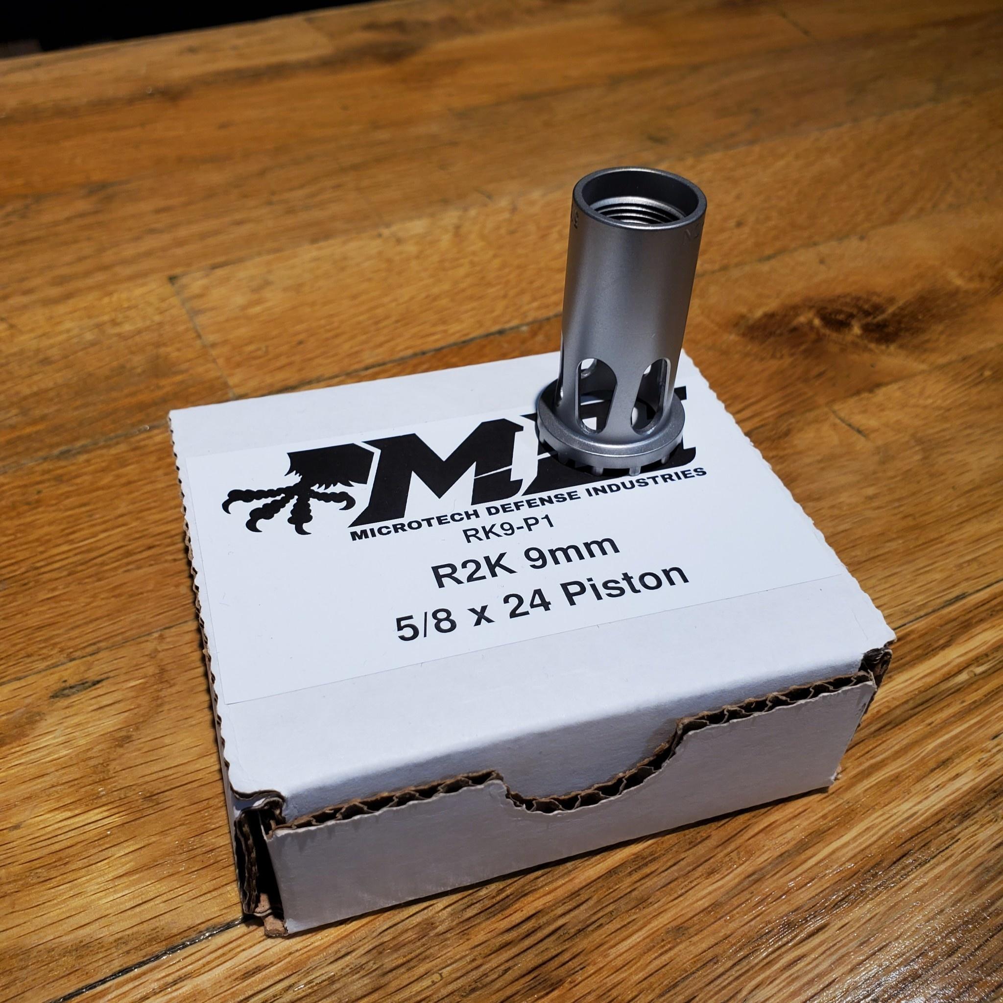 Microtech R2K 9mm, 5/8x24 Piston