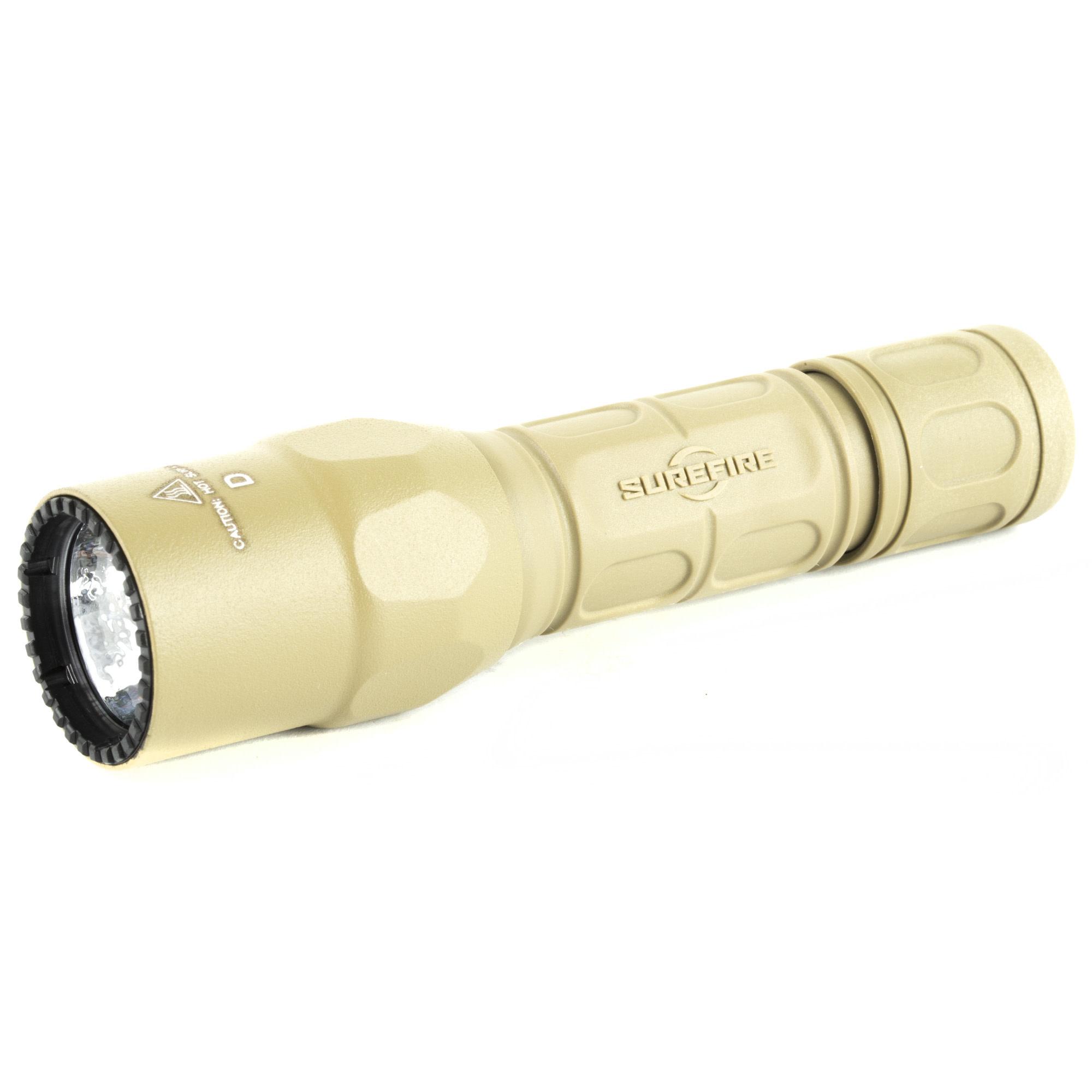 Surefire G2X TACTICAL, 15/320 lumens, Tan