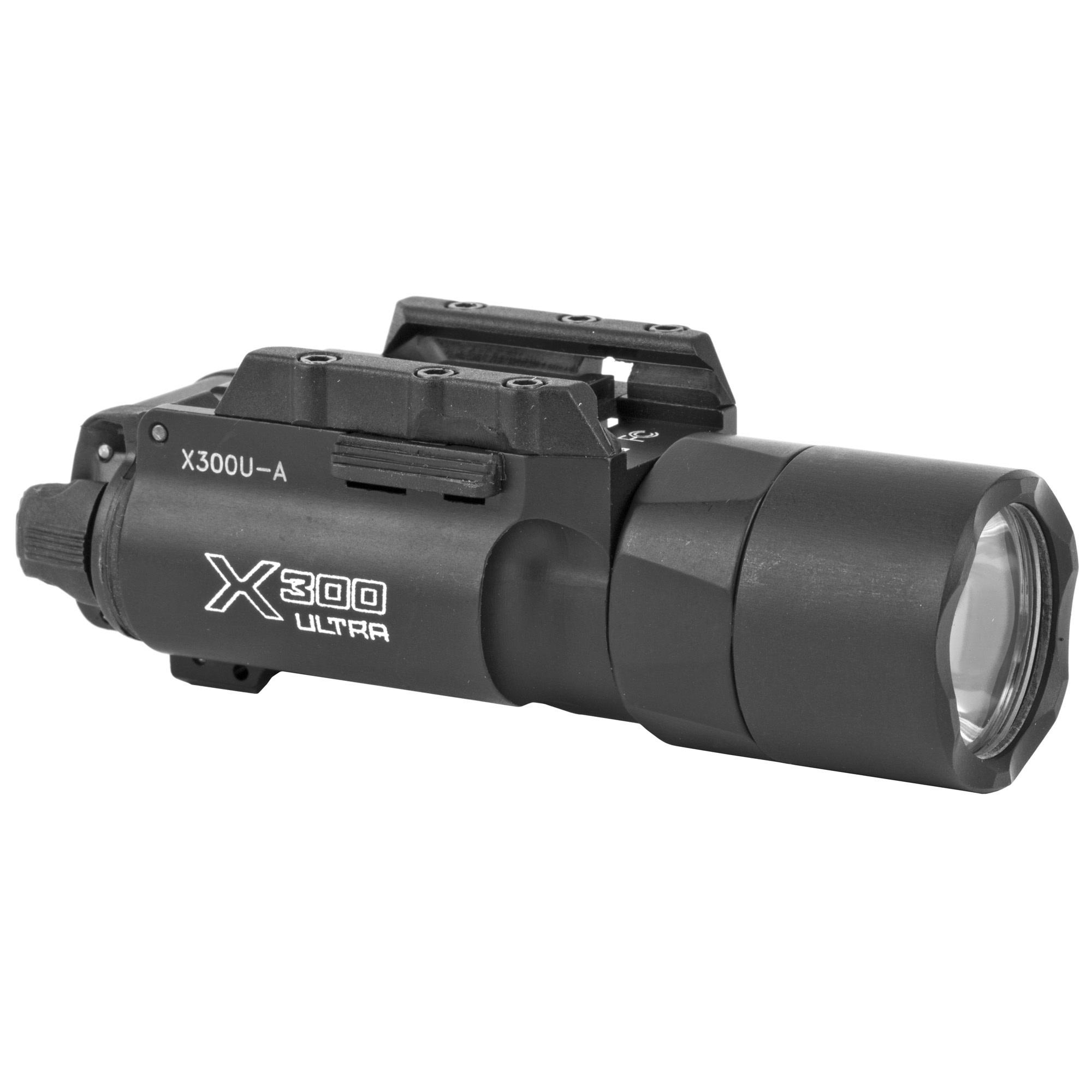 Surefire X300 ULTRA, 600 LU, Black, Push/Toggle Switch