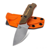 Benchmade 15017-1 Hidden Canyon Hunter, Satin Drop Point Blade and G10 Handle