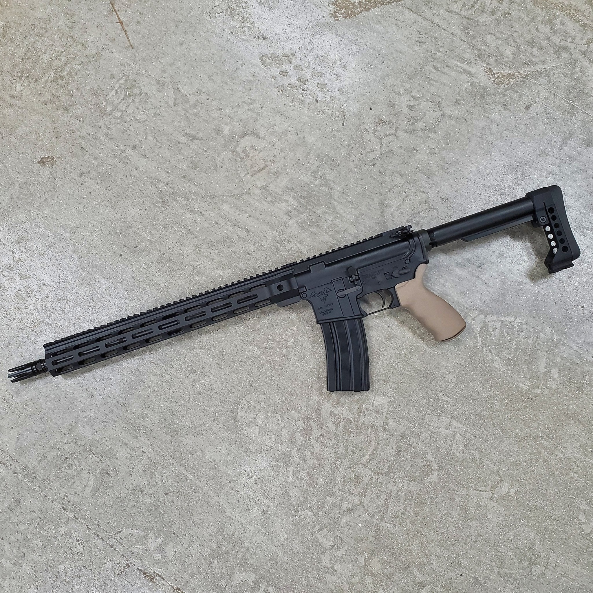 Doublestar M4 5.56 Carbine, 16'', MLOK, 1:7, Carlson Strike flash hider, enhanced extraction system, ergo grip, 7075 T6