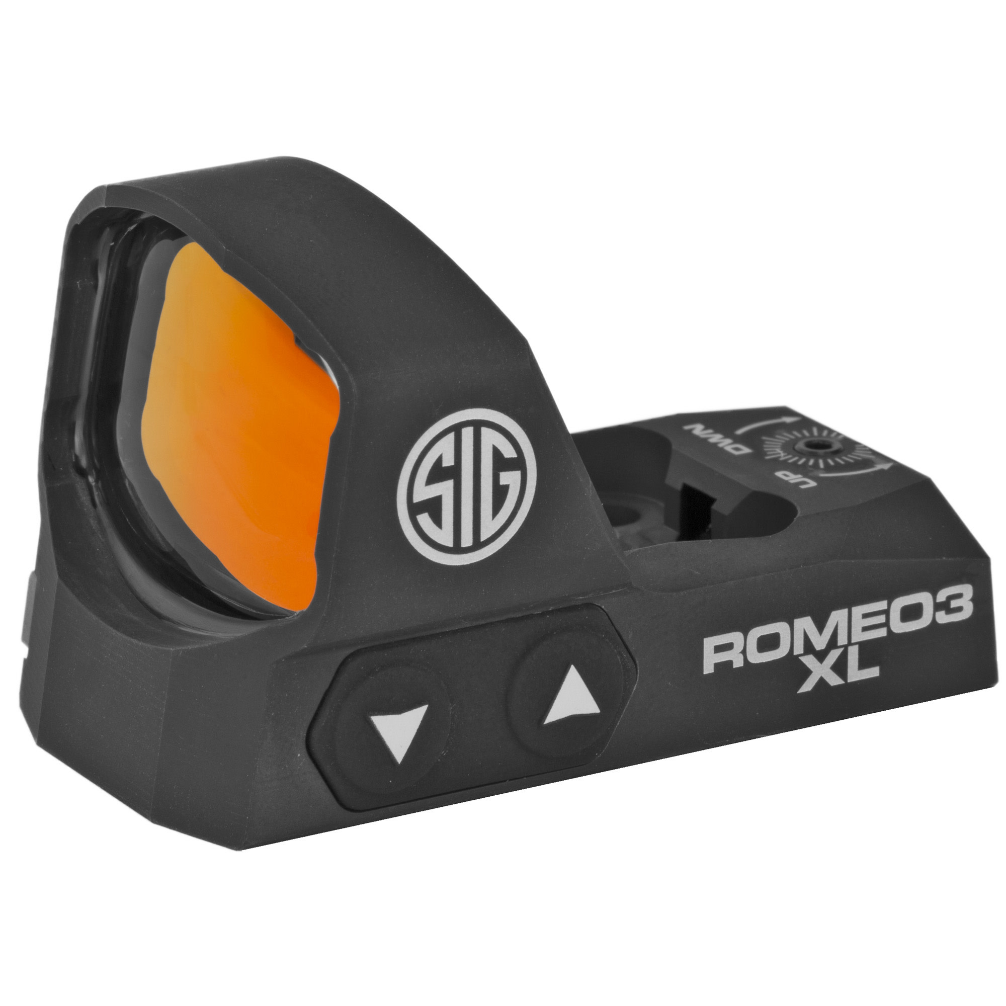 Sig Sauer, Romeo 3 XL, Reflex Sight, 3 MOA Dot, Black Finish, 1 MOA Adjustments