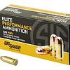 Sig Sauer, Elite Performance Ball, 38 Super +P, 125 Grain, Full Metal Jacket, 50 Round Box