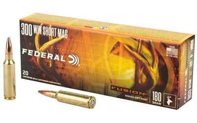 Ammo, Federal Fusion 300 WSM, 180 gr, 20 rd