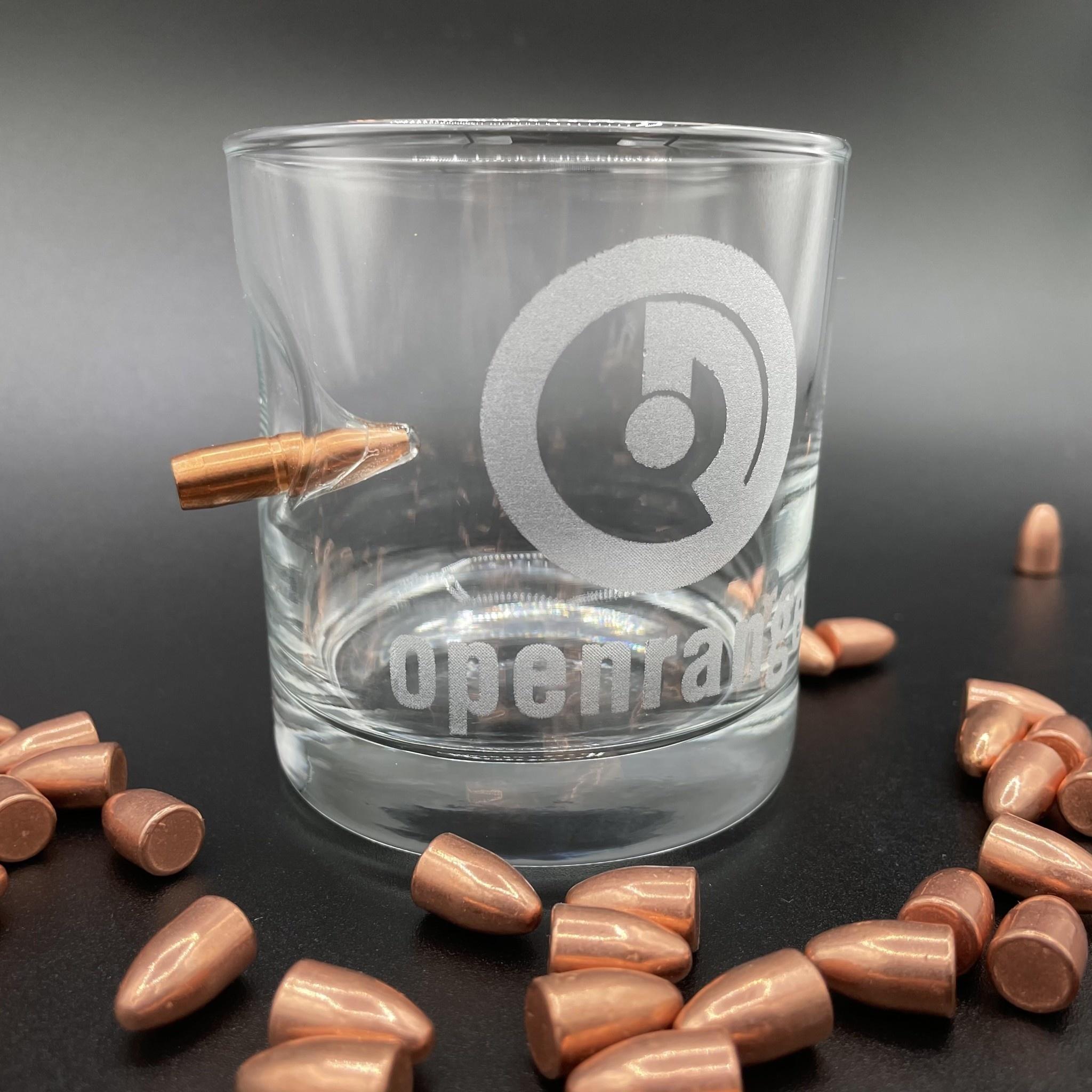 Openrange Whiskey Glass - .308 - American Made by BenShot