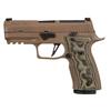 Sig Sauer P320 AXG Scorpion, 9mm, 3.9'', XR3 Optics Ready, FDE, 3x17rd magazine, Hogue G10, Flat Trigger