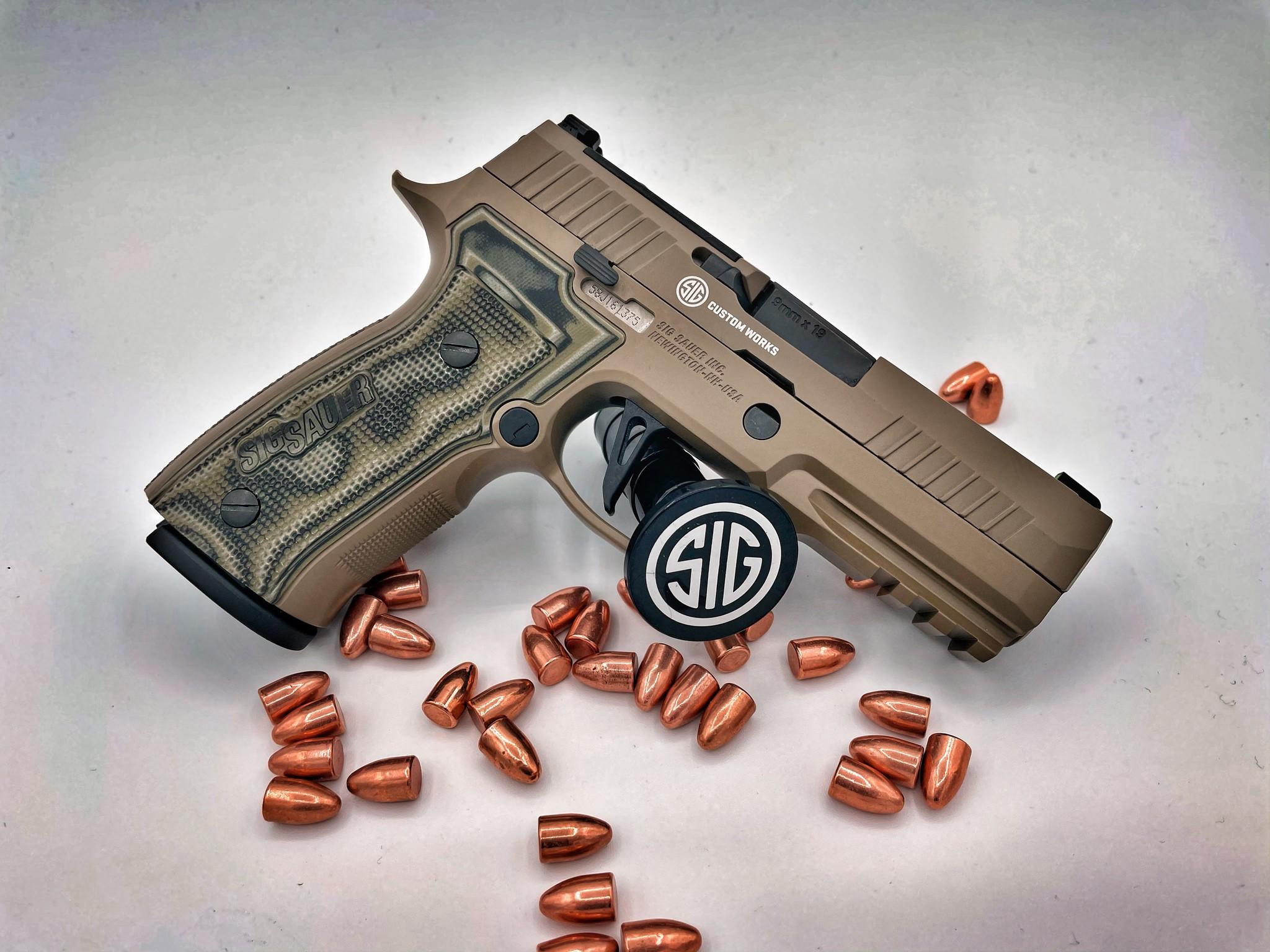 Sig Sauer P320 AXG Scorpion Pistol