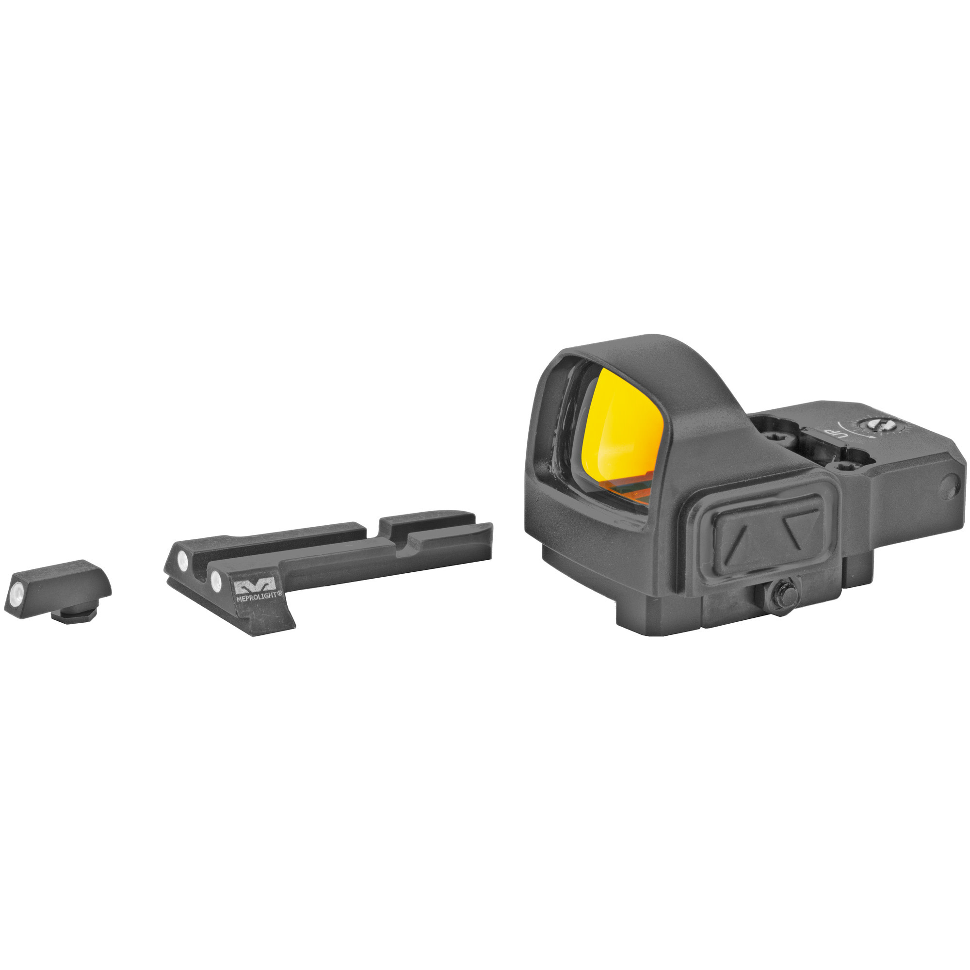 MEPROLIGHT MICRO RDS KIT, GLOCK, includes sights and red dot
