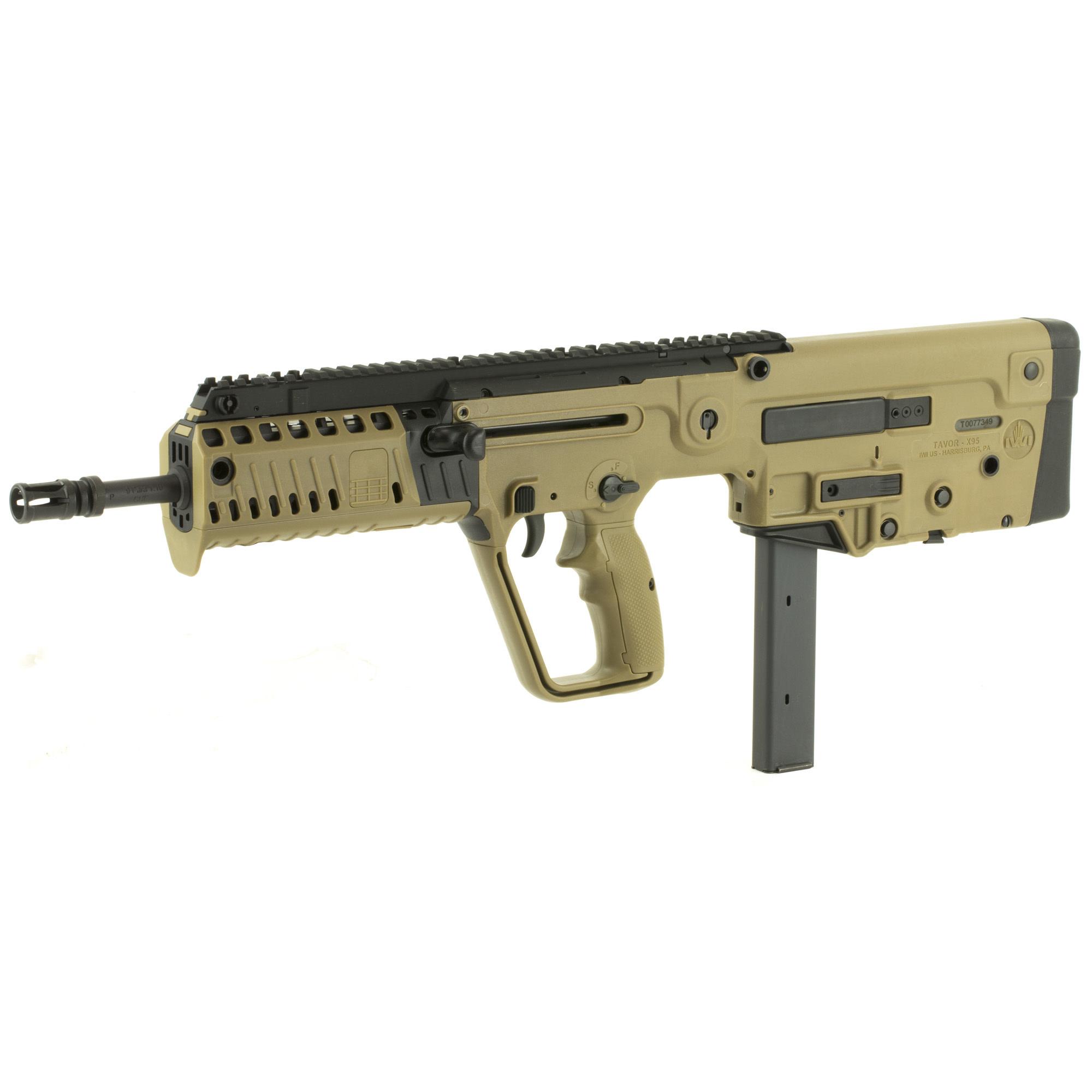 IWI TAVOR X95 bullpup, 9mm, FDE, 32+1, 1 magazine