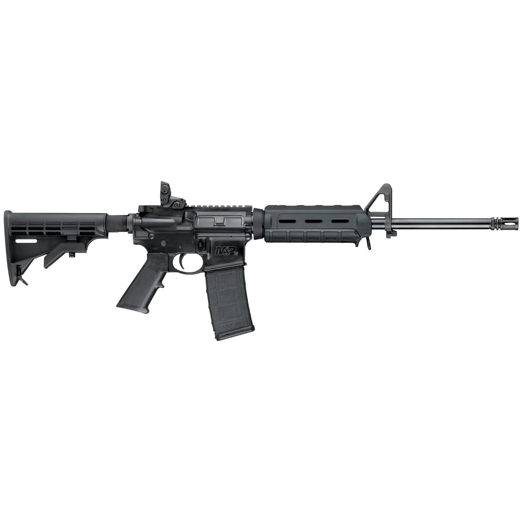 "Smith & Wesson M&P 15 Sport II, 5.56 NATO, 16"", 30Rd PMag, Magpul Flip Up Rear"