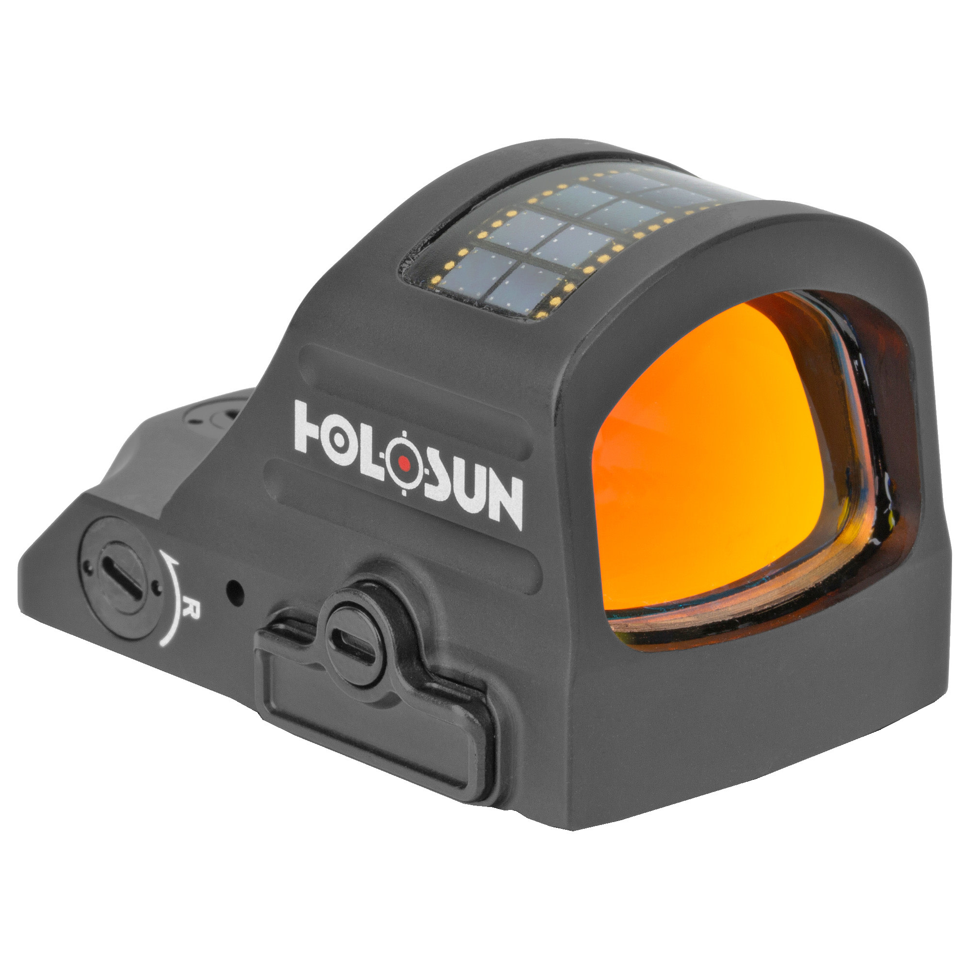 Holosun, 507C-X2, Red Dot, 32 MOA Ring & 2 MOA Dot, Black, Side Battery, Solar Failsafe