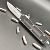 Sold Out - Microtech SCARAB II, stonewashed standard single edge