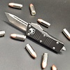 Sold Out - Microtech MINI TROODON, blade - tanto edge stonewashed