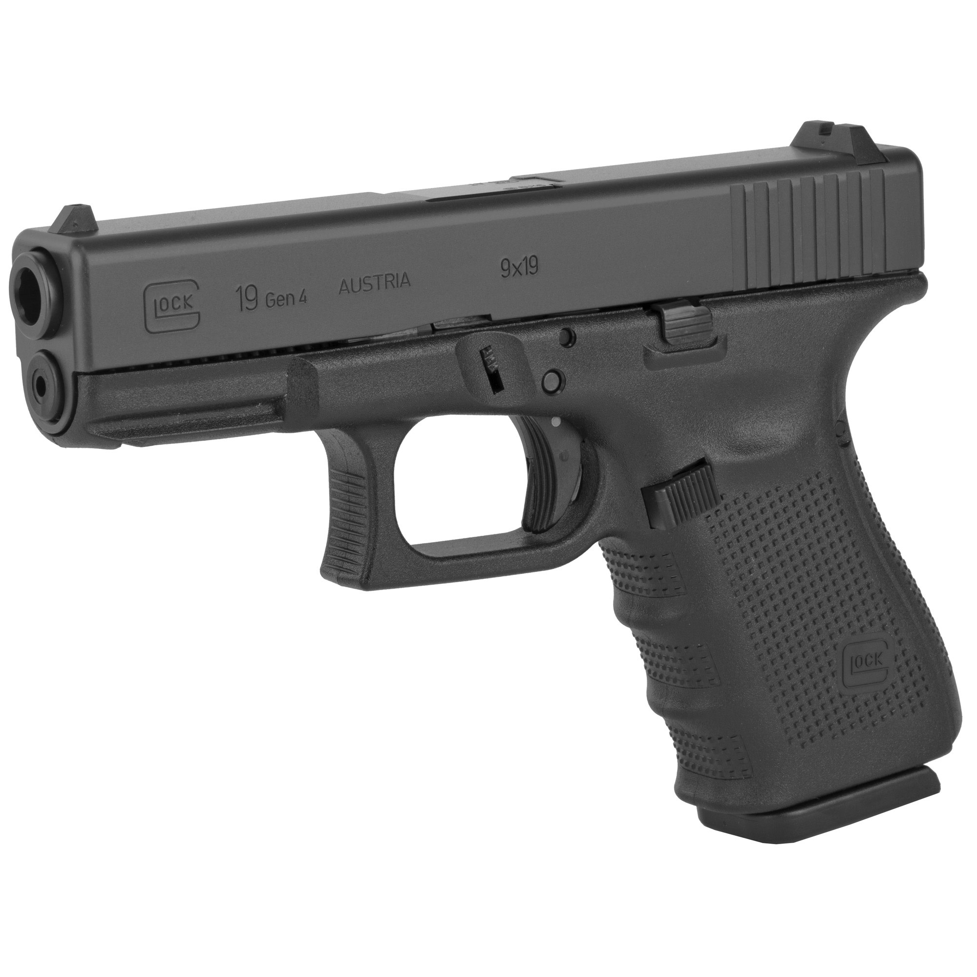 Glock 19 gen 3, 9mm, 15rd, 2 magazines