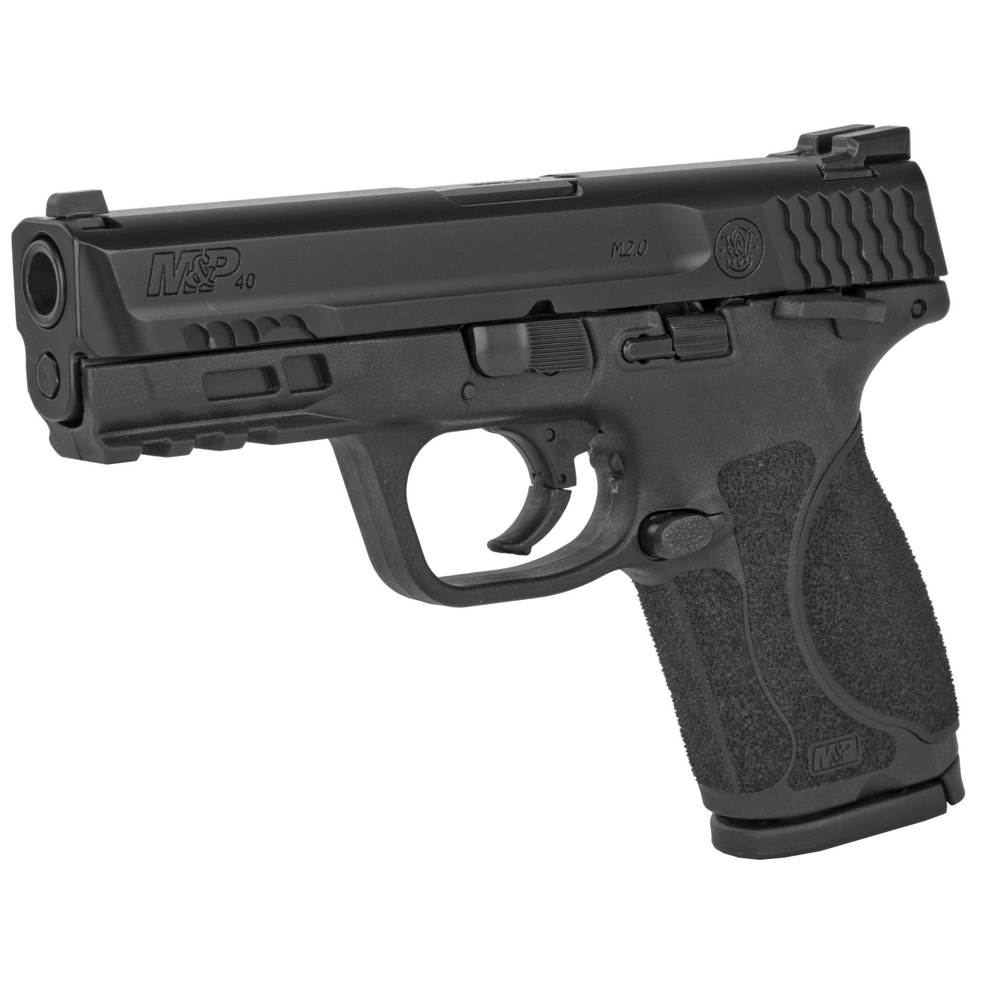 "Smith & Wesson M&P M2.0 Compact,  40 S&W, 4"", 13+1, Black"