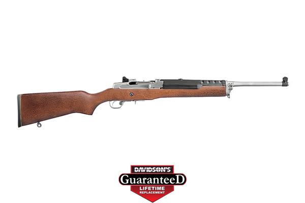 Ruger Mini-30, 7.62x39, Stainless/Wood, 5rd