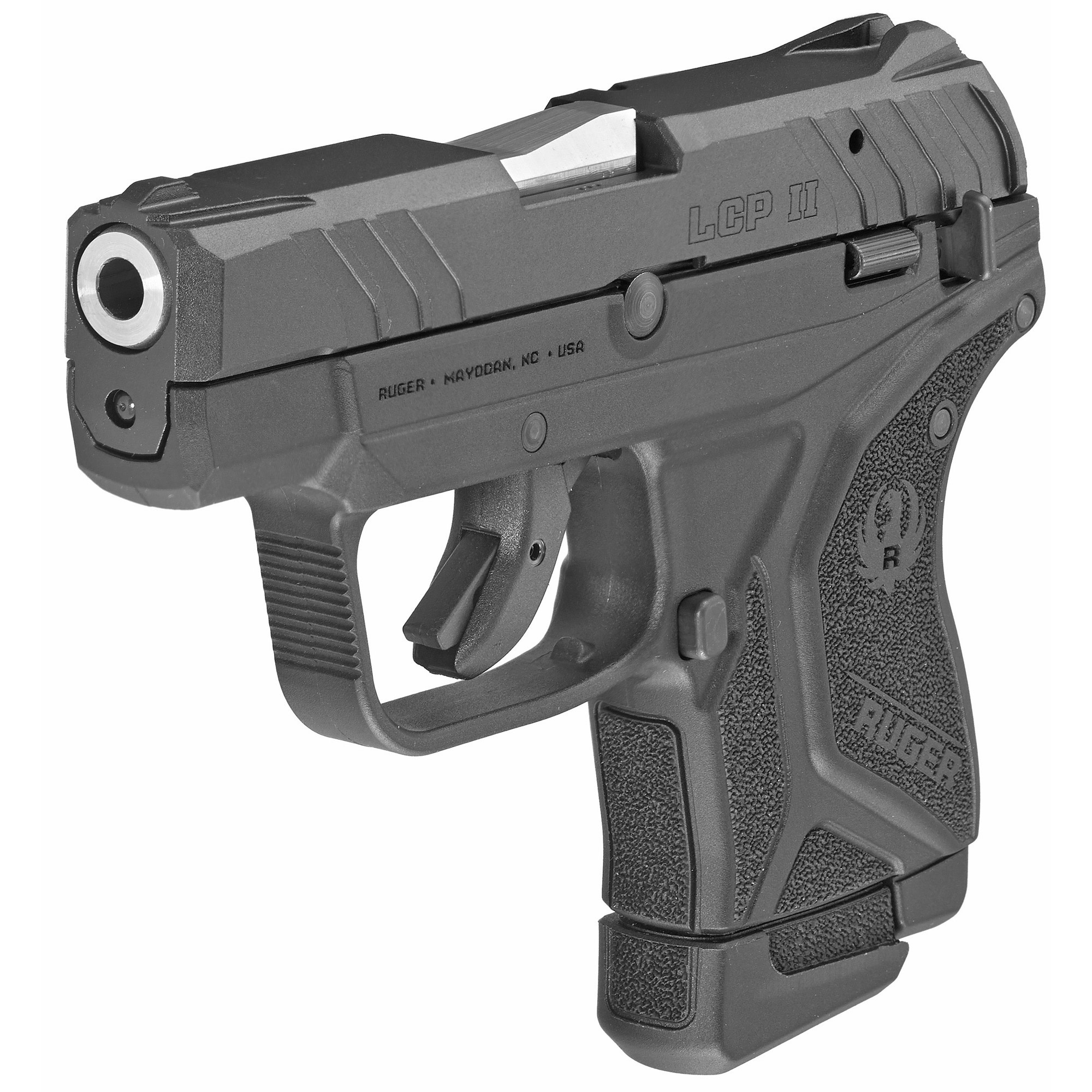 Ruger LCP II, 22lr, Black, 10+1, Safety, Fixed Sights