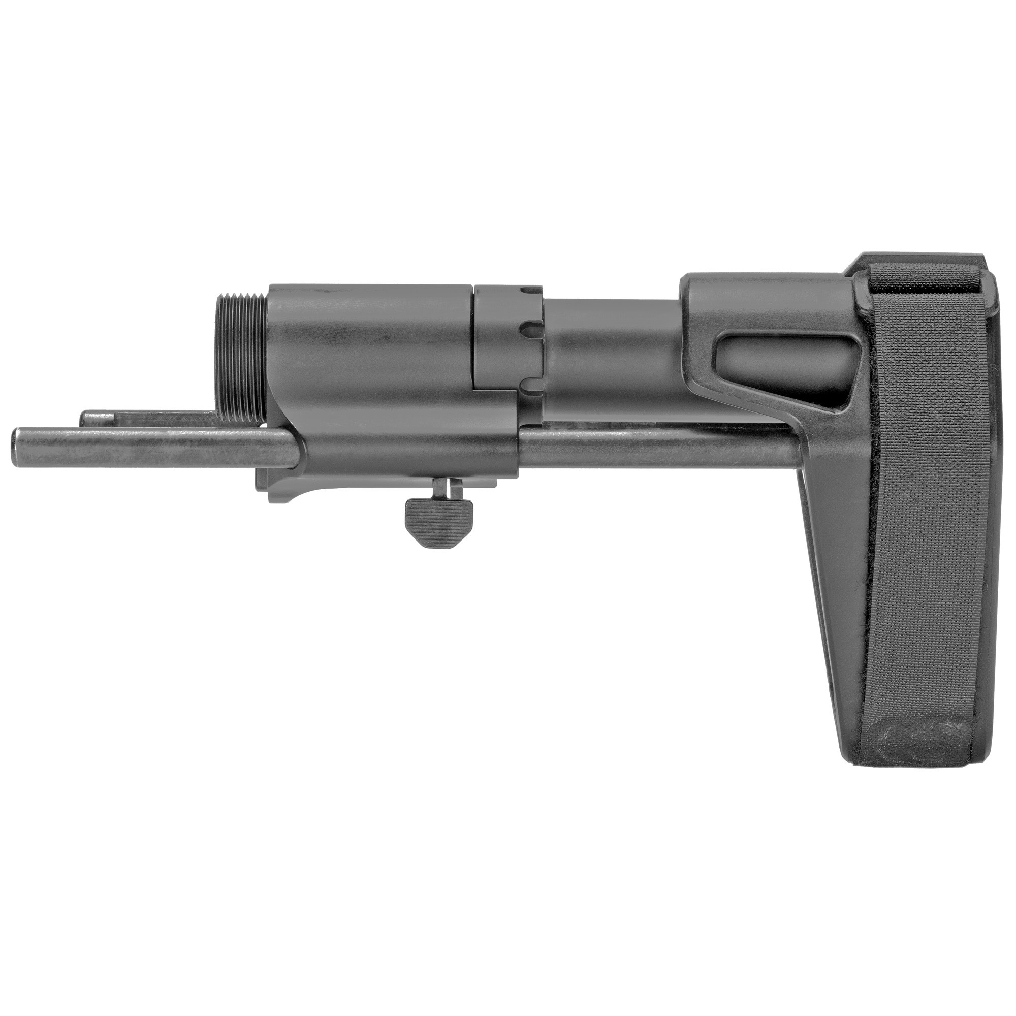 SB Tactical, SB PDW Stabilizing Brace, Black, Fits AR15, Uses Standard BCG and Buffer