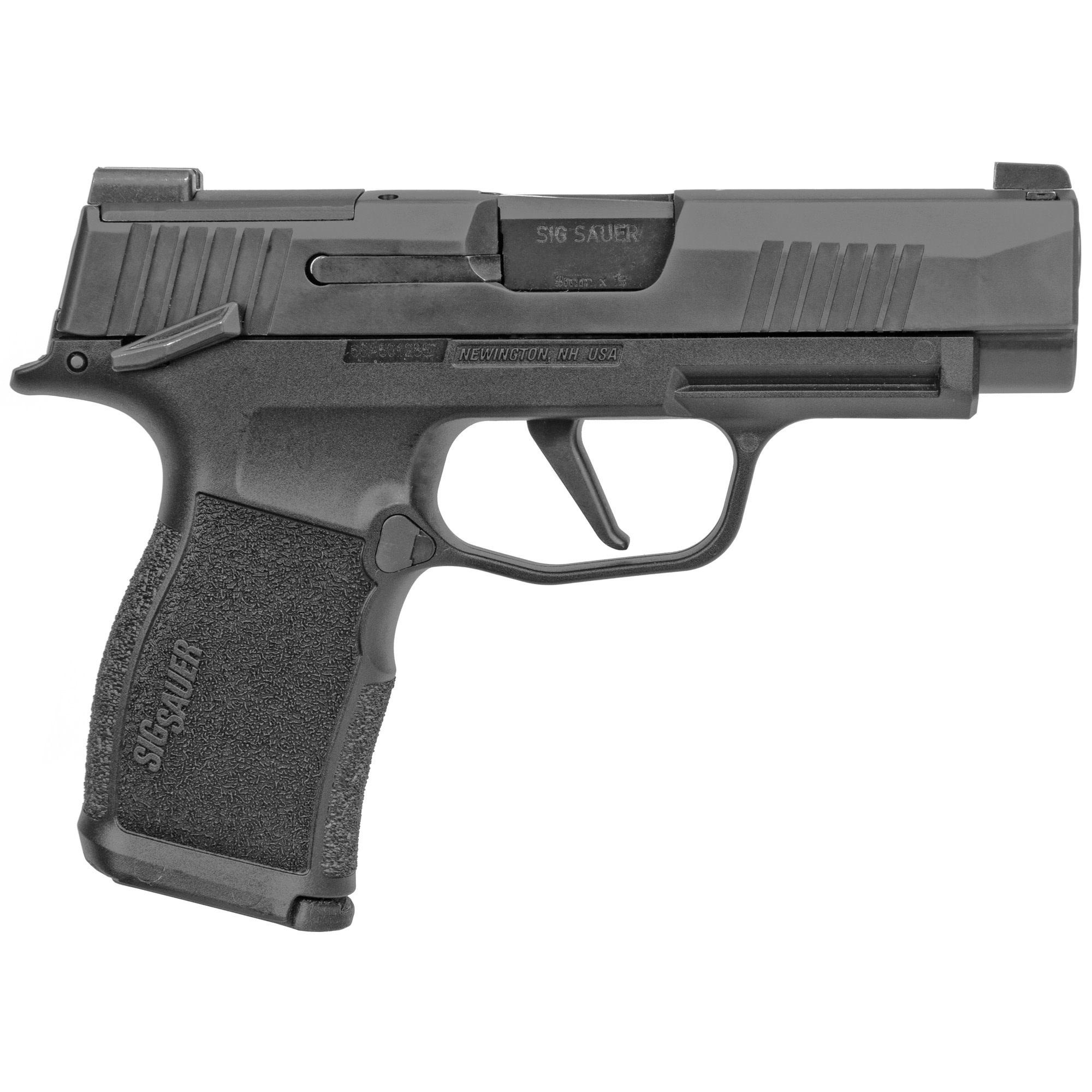 "Sig Sauer P365 XL, 9mm, 3.7"", 10+1, MANUAL SAFETY"