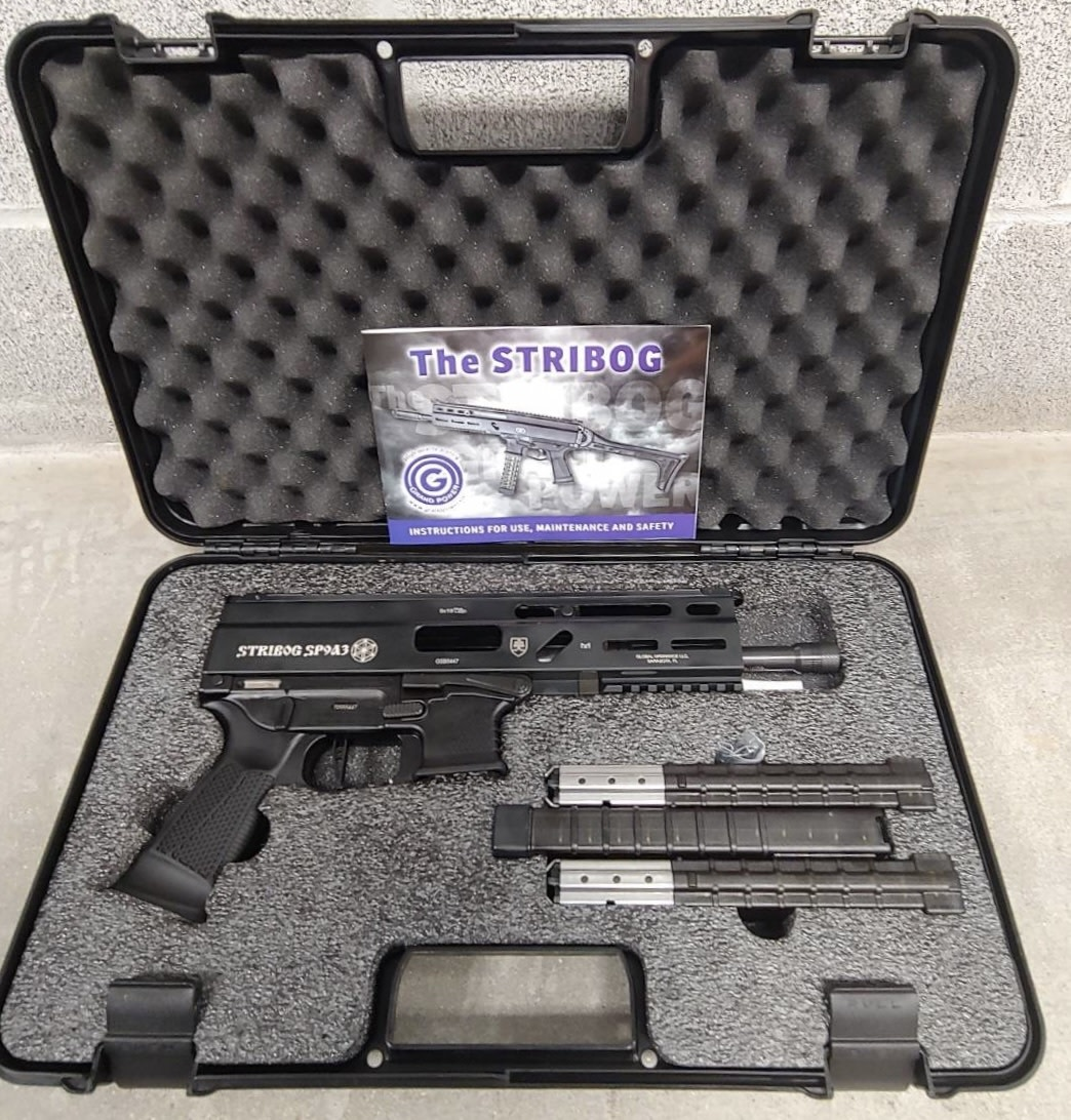Grand Power SP9A3, Stribog 9mm Pistol