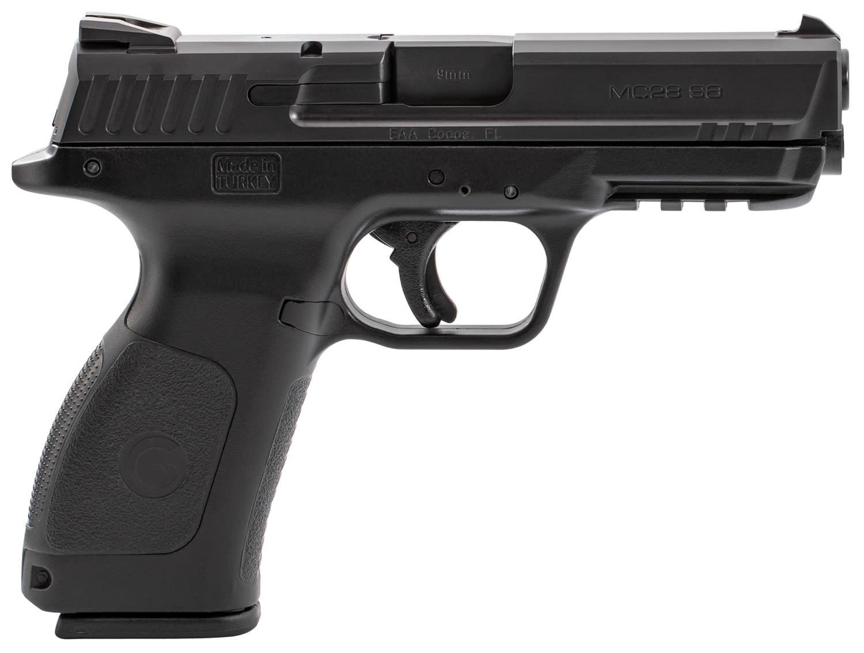 """Girsan MC28 SA, 9mm, 4.25"""", 15+1, Black"""