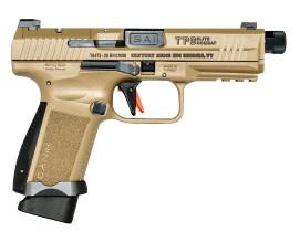 "Canik TP9 Elite Combat, 9mm, 4.73"", 18+1 FDE Cerakote"