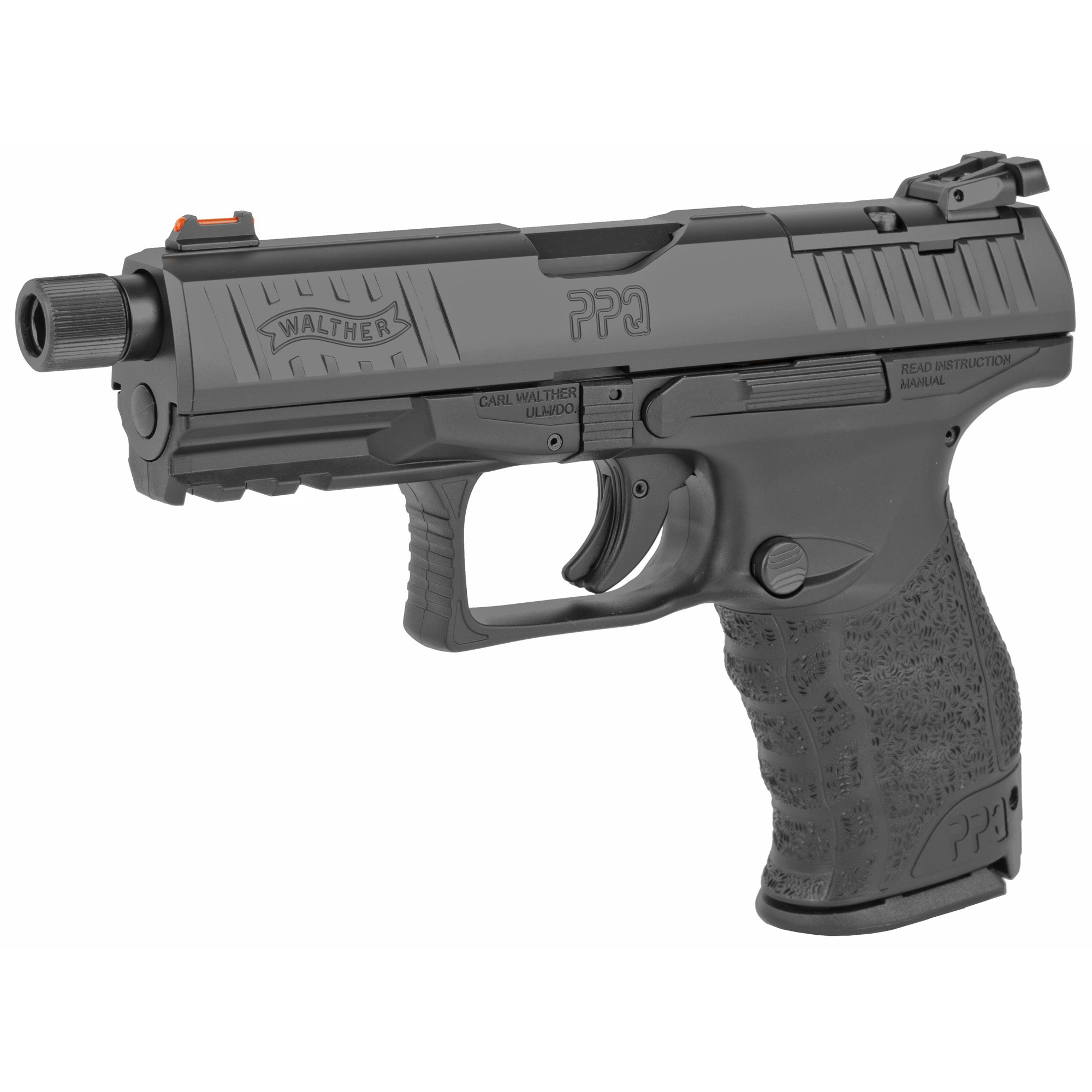 """Walther PPQ M2 Q4 Tactical, 9mm, 4"""" Threaded, 3x17rd"""