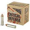 Ammo, Hornady 357 Mag, Critical Defense, 125 gr, 25 rds