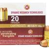 Ammo, DRT Defense Ammo, .40S&W, 105gr, JHP, 20 rounds
