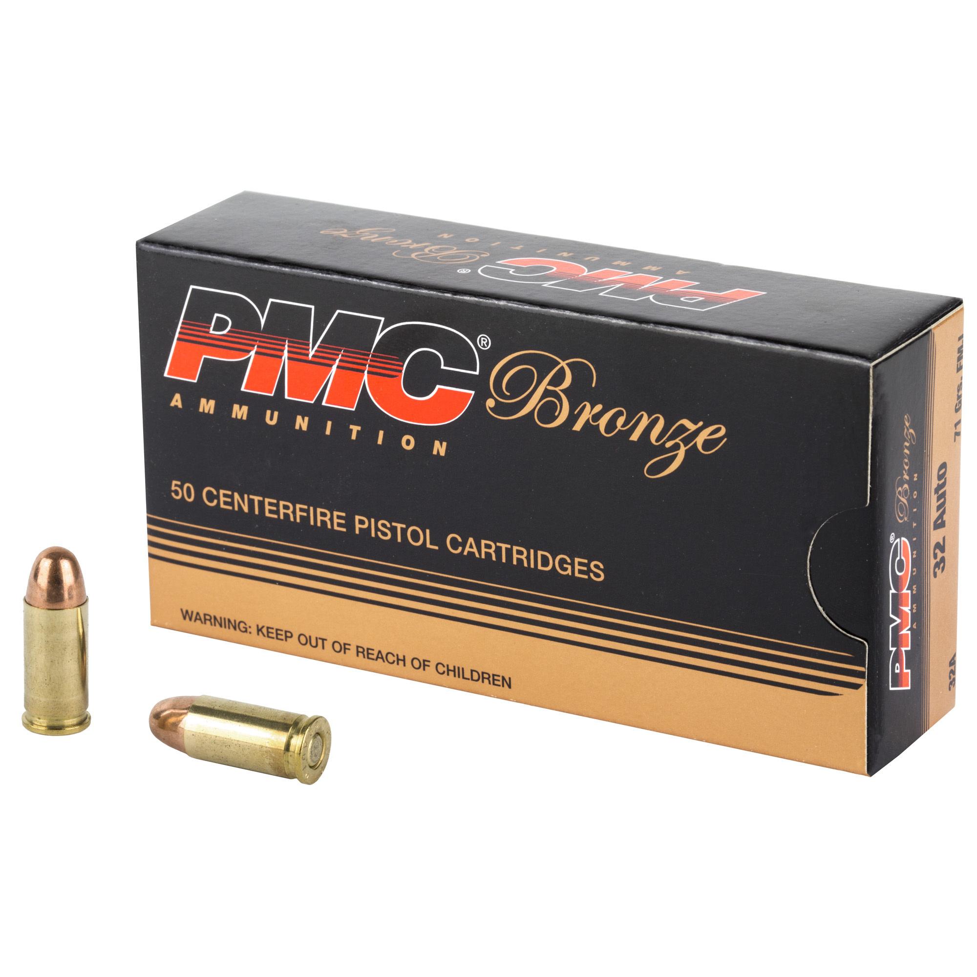 Ammo, PMC 32 Auto, 71 gr, 50 rd