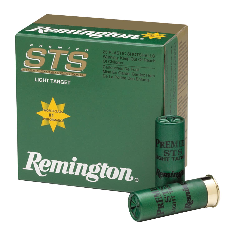 "Ammo, Remington Premier STS Target Load, 12ga, 2.75"", 1 1/8 oz 7.5 Shot, 25 Bx"