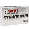 Ammo, AVERT IND LESS LETHAL STANDDOWN 12GA 2.75 IN HYBRID PLASTIC-METAL DBL BALL 5RD