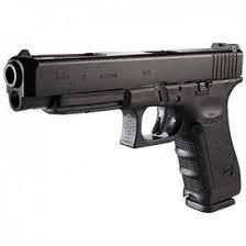 """Glock G34, 9mm, 5.31"""" 17+1, Black, Adj Sights"""
