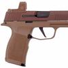 Sig Sauer P365XL NRA, 9mm, Coyote Tan, Romeo Zero Combo, 15+1