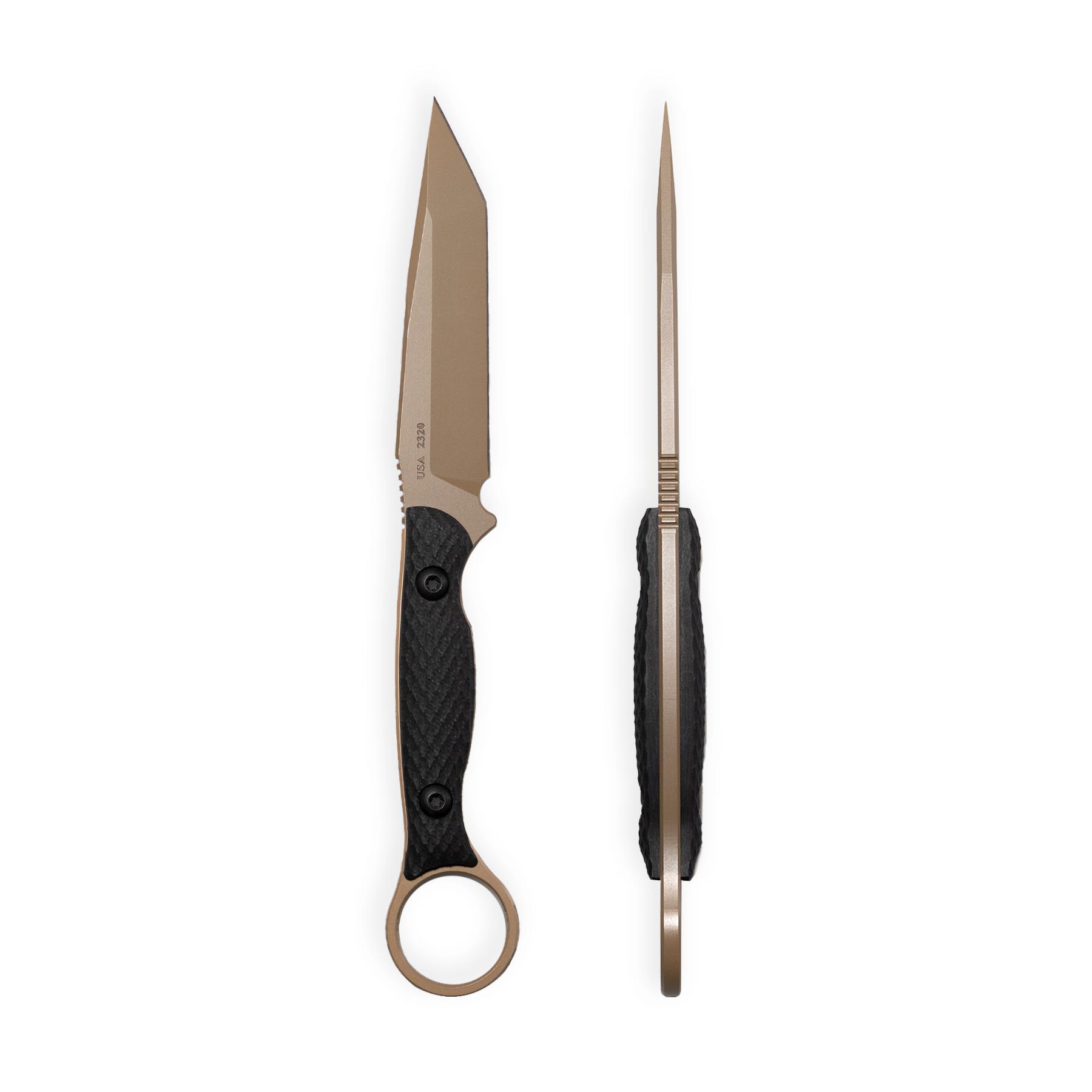 Toor Knives Serpent - FDE