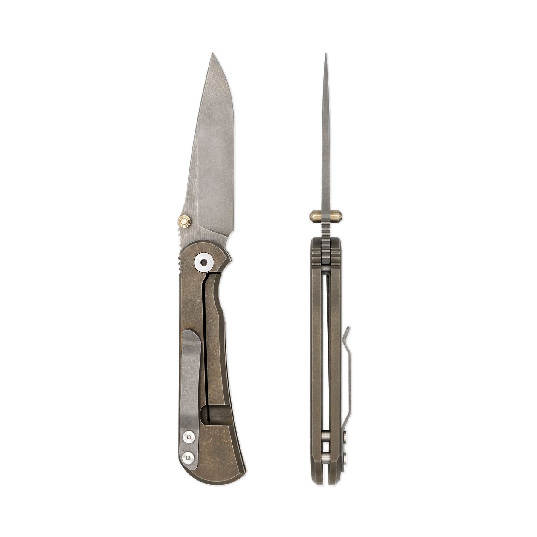 Toor Knives Merchant FL35S - Bronze
