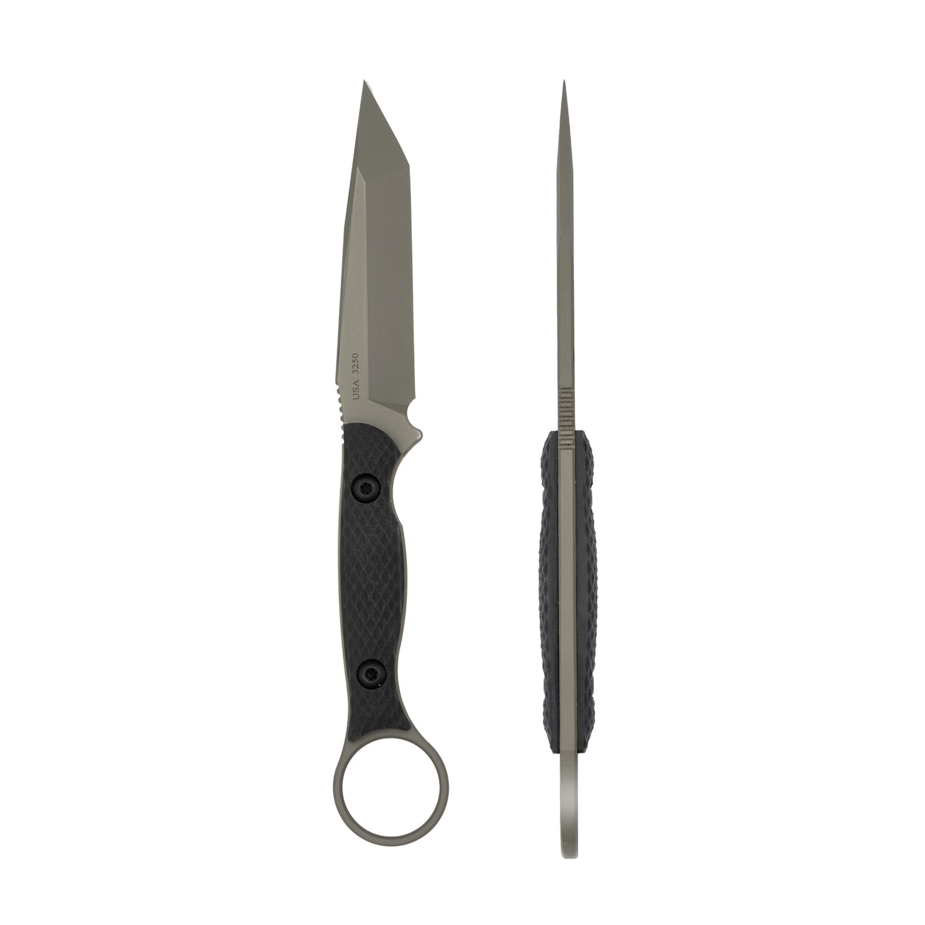 Toor Knives Serpent - Caiman Green