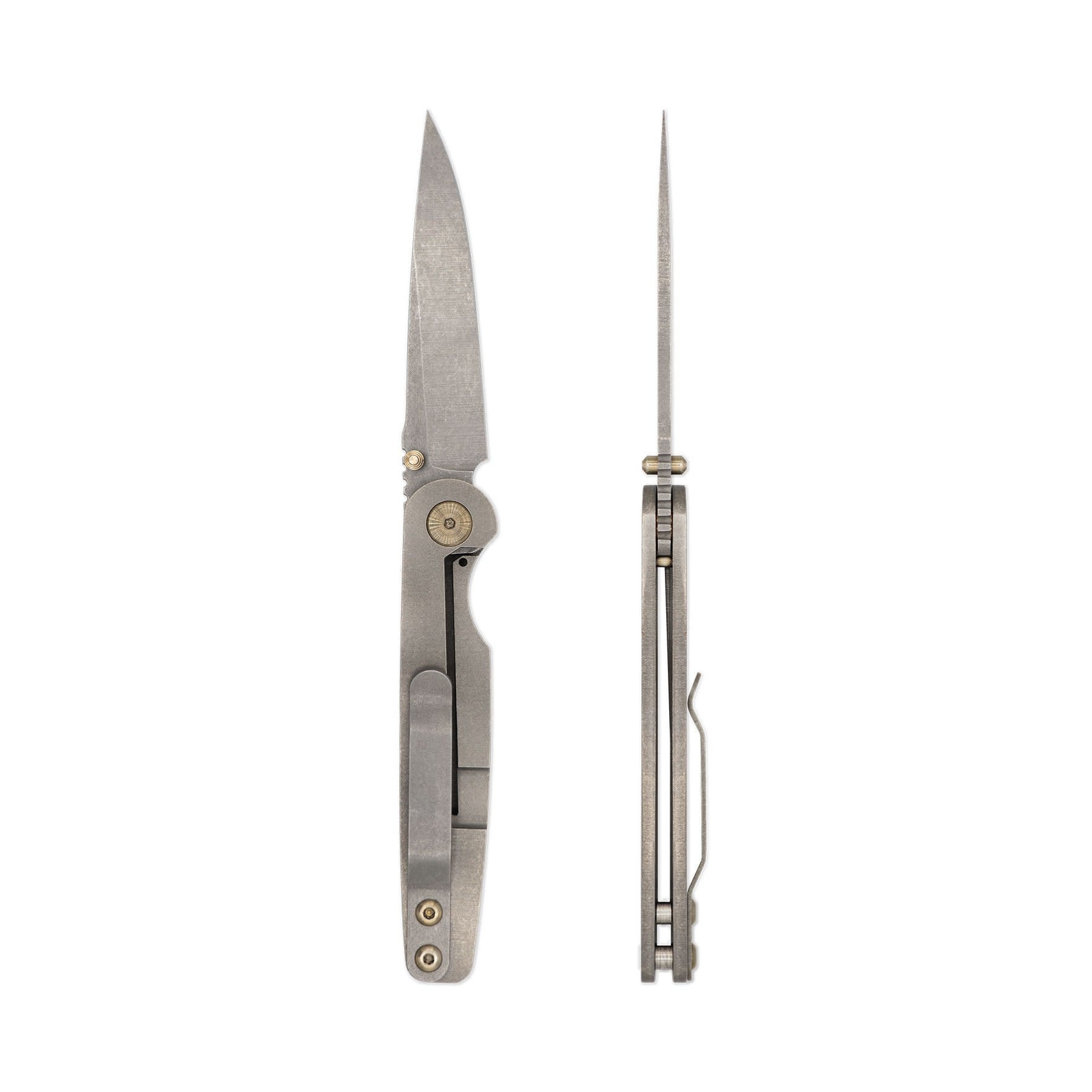 Toor Knives Suitor FL154S - Stone