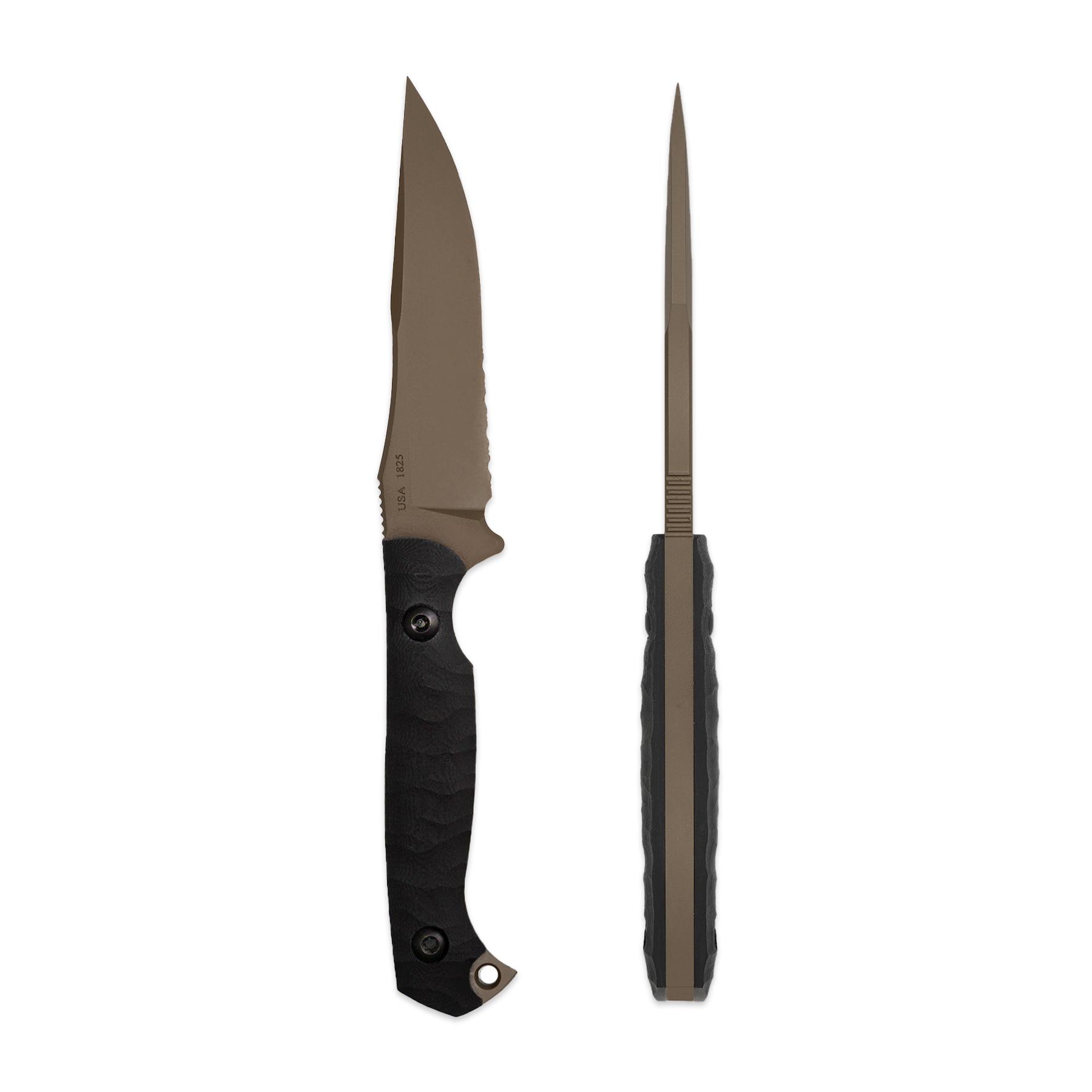 Toor Knives Krypteia - JD35S-Bronze