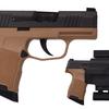 Sig Sauer P365, 9mm, Black/FDE, 15rd, Tac Pack