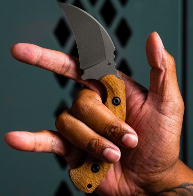 Toor Knives Karsumba, Natural Burlap
