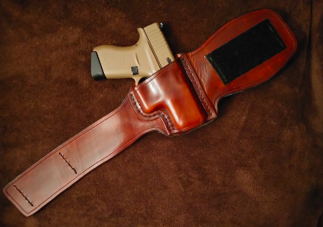 Marlan's custom leather ankle holster